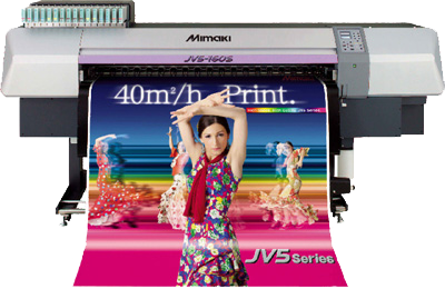 Mimaki JV5series transparent